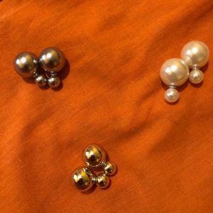 3 Ζευγάρια σκουλαρίκια