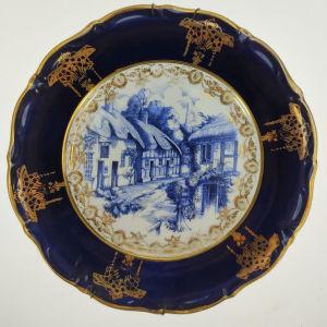 Παλιό διακοσμητικό πορσελάνινο πιάτο Limoges (Α513)