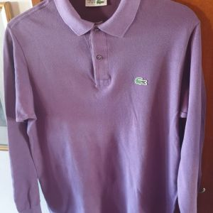 Lacoste large made in France μακρυ μανικη