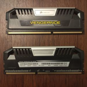 Μνήμες DDR3 2x4gb 1600 Mhz Corsair Vengeance Pro