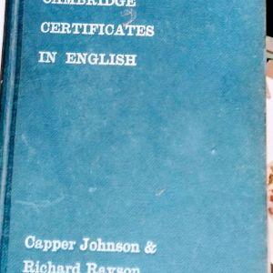 Α  handbook for the CAMBRIDGE CERTIFICATES IN ENGLISE