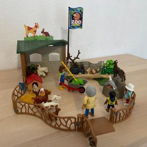 playmobil παιδικός ζωολογικός κήπος 6635