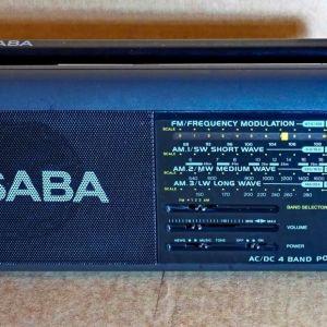 Ραδιόφωνο Saba φορητό αναλογικό