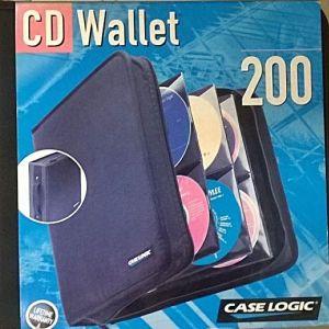 ΘΗΚΕΣ ΓΙΑ 200 CD ΦΟΡΗΤΗ