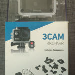 Brand New Action Camera SENCOR, 2 years warranty, video 4K, photo 16MP, waterproof 60m, Wi-Fi, 2nd battery