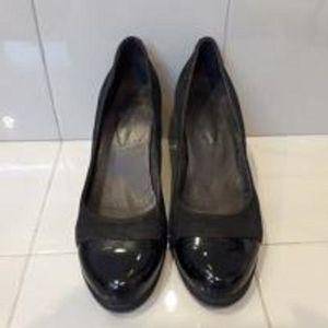 Παπούτσια δέρμα και λουστρίνι