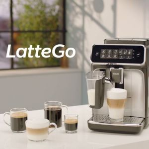 Philips Series 3200 LatteGo EP3246/70 Automatic Coffee Machine - How to Clean and Maintain Ολοι οι τυποι Espresso