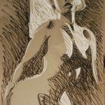 12  γυμνα ποζες απ το  ζωγραφο αντωνη στεφανακο