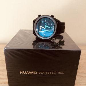 Smartwatch Huawei GT Sport 46mm (Black) Καινούργιο στο κουτί του / 100 % αδιάβροχο στο γλυκό και στο αλμυρό νερό / Best Seller smart watches