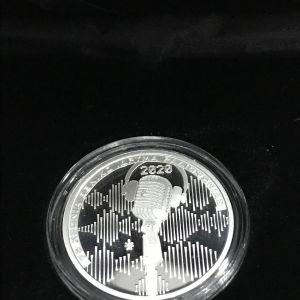 Νόμισμα 6 ευρώ 75 χρόνια εθνικό  ίδρυμα ραδιοφωνίας.