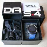 DAS.4 FT07 Blue Marine Functional Ποδηλατικό ρολόι