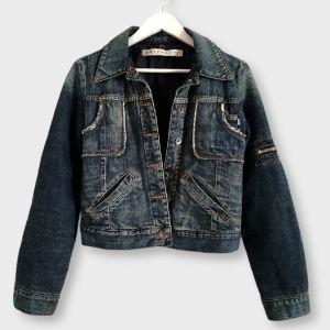 Τζιν jacket με τσέπες - Medium!