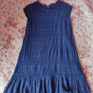 Φόρεμα Zara μπλέ