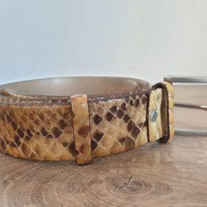 Ζώνη δερμα φίδι Πυθωνας made in Italy Αυθεντικη 100%