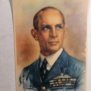 ΒΑΣΙΛΙΑΣ ΓΕΩΡΓΙΟΣ καρτ ποστάλ της Ταχυδρομικής Υπηρεσίας (1941, Πολεμική Σειρά)