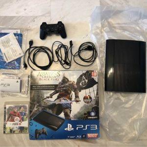 Playstation 3 Super Slim στο κουτί του σε άριστη κατάσταση