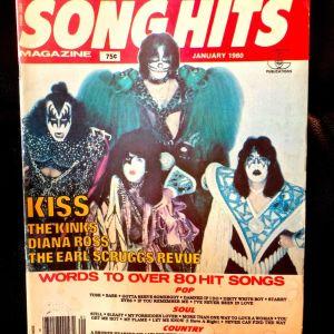 KISS - Song Hits Magazine 1980