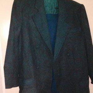 Σακάκι L σκουρο πρασινο χρωμα