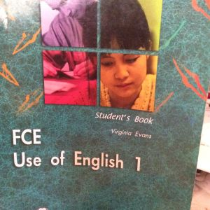 FCE  Use of English 1 student 's Book, Virginia Evans , Express Publishing