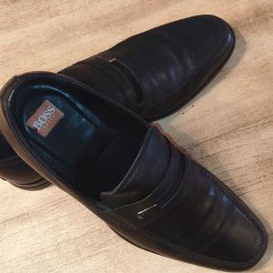 BOSS παπούτσια μαύρα, Νο 42