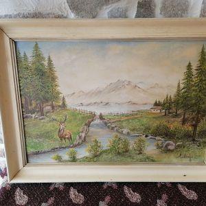 Πίνακας ζωγραφικής με κάδρο