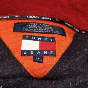 TOMMY HILFIGER jeans Pullover Sweater jumper Fleece φούτερ XL 85 thj