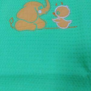 κουβέρτακι πικε 1.14χ1.30 ελέφαντα κι με παπάκι προσφορα