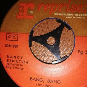 Bang Bang - Nancy Sinatra  45 στροφών Βινύλιο