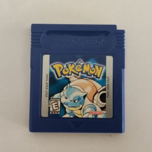 ORIGINAL AUTHENTIC Pokemon Blue USA Version (Save New Battery) Game Boy Color