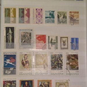 100 γραμματόσημα
