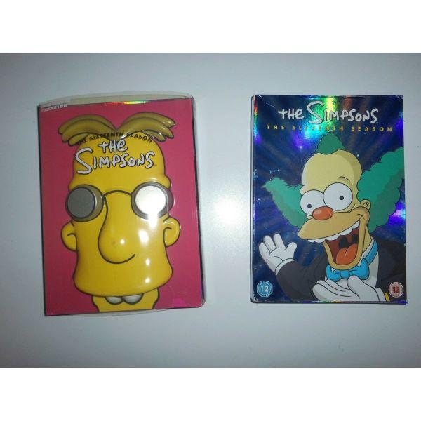 DVD SIMPSONS SEASON 16 ke 11
