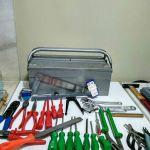 Εργαλεία καινούργια με εργαλειοθήκη 33 κομάτια