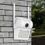 35E    Εξωτερική Ασύρματη Λάμπα Κάμερα Τοίχου Wall Lamp Camera V380 – Αδιάβροχηdealmarket.store