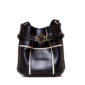 Γυναικεία μαυρη τσάντα Elena Athanasiou