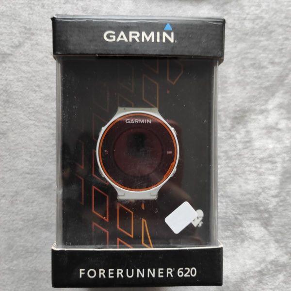 RUNNING watch Garmin forerunner 620 orange + HRM band.