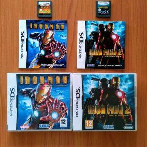NINTENDO DS - IRON MAN 1 & IRON MAN 2