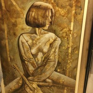 Ι.Ρέντης πίνακας ζωγραφικης