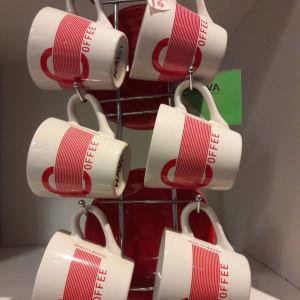 Φλυτζανια του καφε 6τμχ Nava