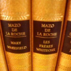 MAZO DE LA ROCHE.   4 βιβλία