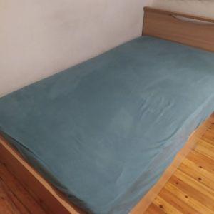 Πωλείται Κρεβάτι Μονό με Στρώμα