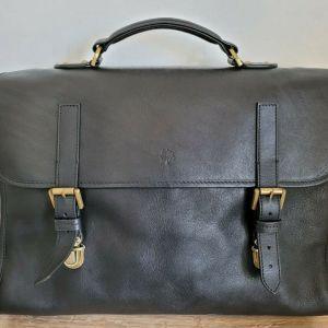 Mulberry Walter Black Leather Briefcase Δερματινος Χαρτοφυλακας Τσαντα Αυθεντικη 100%