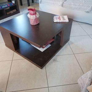 Τραπέζι Σαλονιού Τετράγωνο 80x80 Wenge