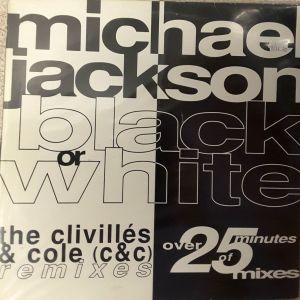Black or White (The Clivilles & Cole Remixes) Maxi Single