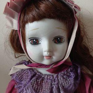 Κούκλα παλιάς εποχής CLAUDIE ET CLAUDE, πορσελάνη, Ιαπωνικής προέλευσης
