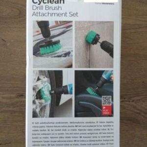 Σετ Βούρτσες Καθαρισμού Τρυπανιών Cyclean InnovaGoods 3 τεμάχια