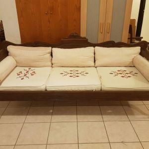 Πωλείται σετ καναπές & 2 πολυθρόνες
