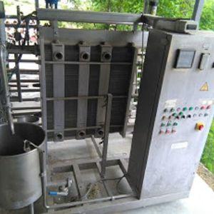 Μεταχειρισμένος παστεριωτής γάλακτος - παγωτού (βραστήρας) 2000 λίτρων / ώρα