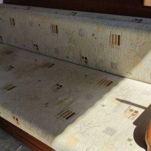 Καναπές Αναδιπλούμενος που γίνεται και κρεββάτι, με αποθηκευτικό χώρο