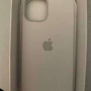 iPhone 12 mini apple white silicone case