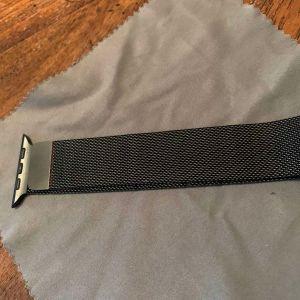 Λουράκι γνήσιο 44mm - Apple Watch Space Black Milanese Loop 44mm